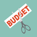 Cutting budget Stock Images