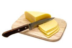 Cutting the Cheese Royalty Free Stock Photos