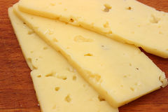 Cutting of cheese Royalty Free Stock Images