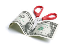Cutting costs Stock Photography