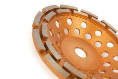 Cutting disks with diamonds - Diamond discs for concrete isolated on the white background. Cutting disks with diamonds - Diamond discs for concrete isolated on Stock Photo