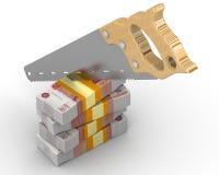 Cutting funding Stock Photos