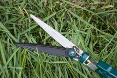 Cutting grass Stock Photos