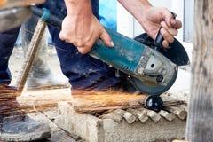 Cutting grinder Stock Photos