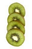 Cutting kiwi Stock Image