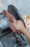 Cutting machine Royalty Free Stock Photo