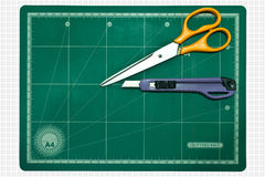 Cutting mat Royalty Free Stock Photos