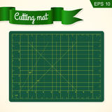 Cutting mat for quilting, patchwork and craft Royalty Free Stock Image
