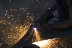 Plasma cutter Royalty Free Stock Photos