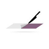 Cutting paper vector Royalty Free Stock Photo