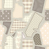 Cutting pattern Royalty Free Stock Images