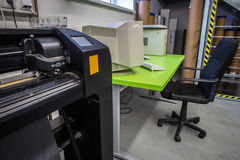 Cutting plotter Royalty Free Stock Photography