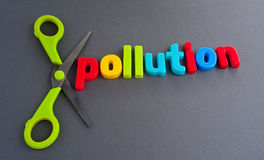 Cutting pollution Stock Images