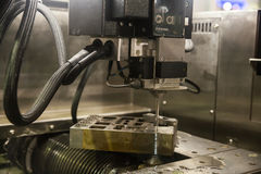 Cutting processing manufacture Royalty Free Stock Photography