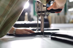 Cutting room. Stock Images