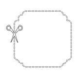 cutting scissors isolated icon design Stock Photo