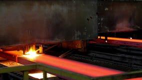 Cutting steel. stock video