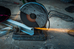Free Cutting Steel With Machine Stock Photos - 98385923