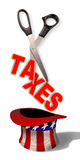 Cutting Taxes. Stock Photos