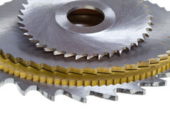 Cutting tool- mill Stock Image