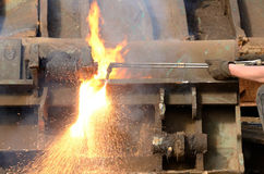 Cutting Torch Stock Images