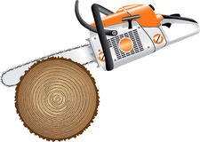 Cutting trees Royalty Free Stock Photo