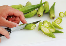 Cutting Vegetable Stock Images