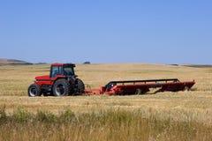 Cutting Wheat Royalty Free Stock Photo