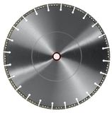 Cutting wheel. Frontal shot of a diamond studded cutting wheel in white back royalty free stock image