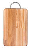 Cutting wooden board with handle Royalty Free Stock Images