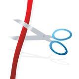 cuttingband stock illustrationer