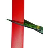 cuttingpappersexercis Fotografering för Bildbyråer