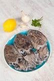 cuttlefish сырцовые Стоковые Изображения RF