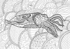 Cuttlefish stock illustrations 953 cuttlefish stock for Cuttlefish coloring pages