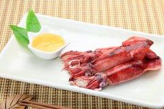 Cuttlefish które gotowałem się Obrazy Stock