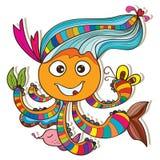 Cuttlefish szczęśliwy bezpłatny Obraz Stock
