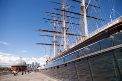cutty Greenwich sark Fotografia Royalty Free