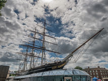 Cutty Sark clipper in Greenwich Village, London Royalty Free Stock Images