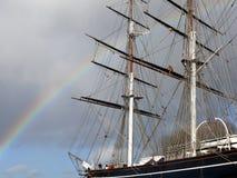 Cutty Sark clipper ship - London UK Stock Photos