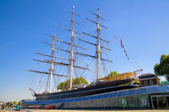 Cutty Sark, fastest boat 19th century, London Stock Photos