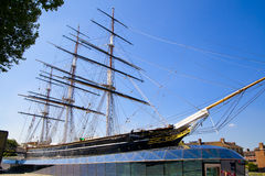 Cutty Sark, fastest boat 19th century, London Royalty Free Stock Photos