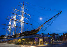 Cutty Sark in Greenwich Stockfotografie