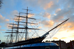 Cutty Sark, Greenwich, London, UK Royalty Free Stock Image