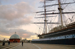 Cutty Sark, Greenwich, London, UK Stock Images