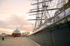 Cutty Sark, Greenwich, London, UK Stock Photos