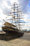 Cutty Sark a Greenwich, Londra Fotografie Stock