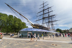 Cutty Sark, Londen Royalty-vrije Stock Foto