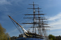 Cutty Sark Ship Greenwich, United Kingdom Stock Image