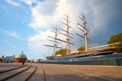 Free Cutty Sark, The Historical Tea Clipper Ship In Greenwich, London, UK Stock Photo - 130425910