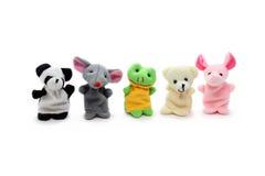 Cuty-Finger-Marionetten Lizenzfreies Stockbild